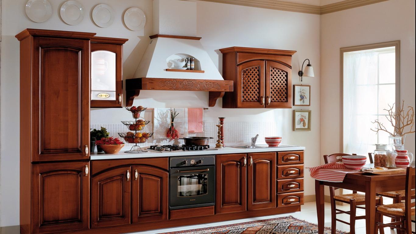 повторить рисунок кухни из массива дерева фото район